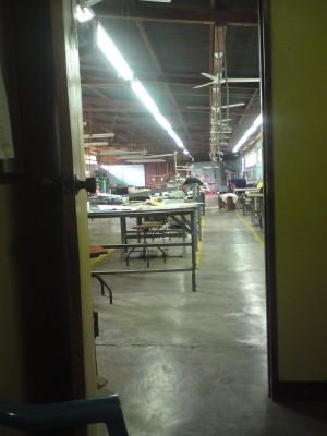 Factory in Managua