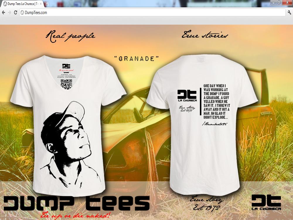 """T-shirt """"granade"""""""