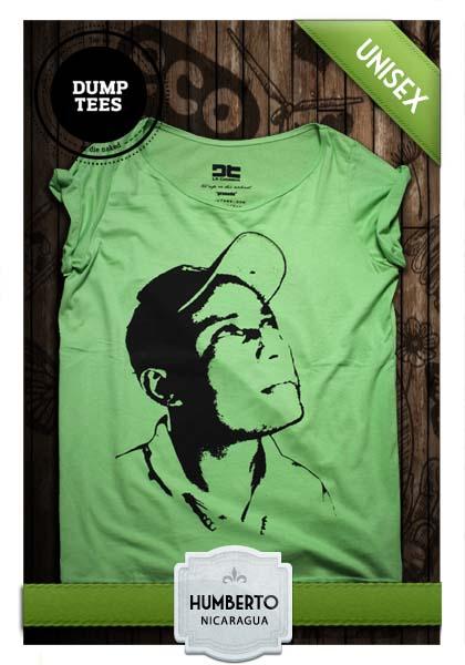 Front grön och svart Dump Tees