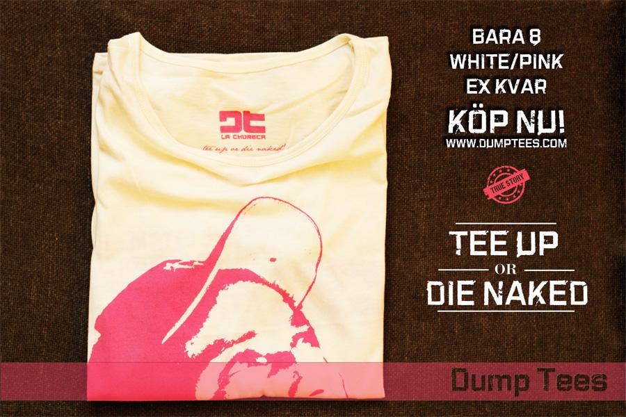 Dump Tees Vit/Rosa t-shirt